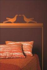 Dekoracje ścienne, wzory walentynkowe od Tikkurila